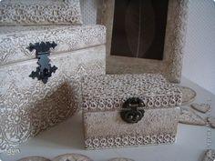 Декор предметов Коллекция Белое кружево Кружево фото 3