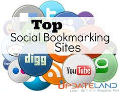 Latest High PR Social Bookmarking Sites List - Social Bookmarking Sites are great resources to get instant backlinks. Use this list and boost your ranking.