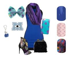 Sully from Monsters Inc by renee-eason on Polyvore featuring art