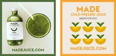 Juice Branding, Cold Pressed Juice