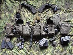 macv sog in vietnam | SOG RT Team members individual equipment was just that, individual ...