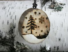 Winter Wonderland Handmade Driftwood Tree by TwigsandBlossoms