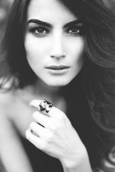 beautiful woman #monochrome