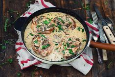 VIDEO | MAILLARD RECIPE | Pork Chops with Creamy Mushroom Sauce.