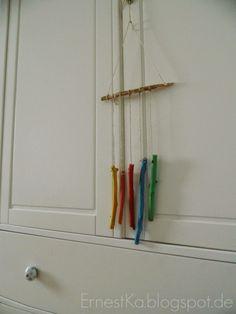 Buntes DIY Windspiel Mehr