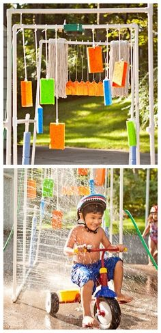 DIY Kids Car Wash and Sprinkler Tutorial -