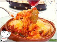 ΠΙΚΑΝΤΙΚΟ ΚΟΤΟΠΟΥΛΟ ΜΕ ΓΕΜΙΣΤΕΣ ΕΛΙΕΣ!!! | Νόστιμες Συνταγές της Γωγώς