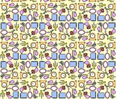 Enchanted Castle fabric by cozyreverie on Spoonflower - custom fabric