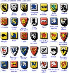 medieval knight symbols medieval shield symbols
