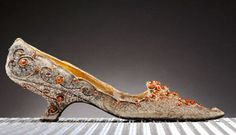 Roger Vivier shoes, commissioned in 1962 for Iranian Princess Soraya, sold for £17,180