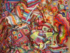 Attick 24 crochet blankets