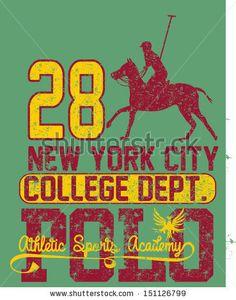College Polo Player Vector Art - 151126799 : Shutterstock