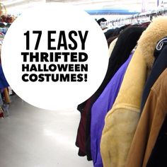 17 Easy Thrifted Halloween Costumes that you can recreate using items from Goodwill!