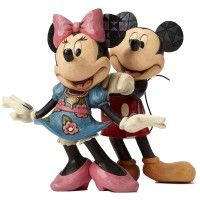MICKEY et MINNIE Figurine Pour ma Douce Disney Collection Disney Tradition