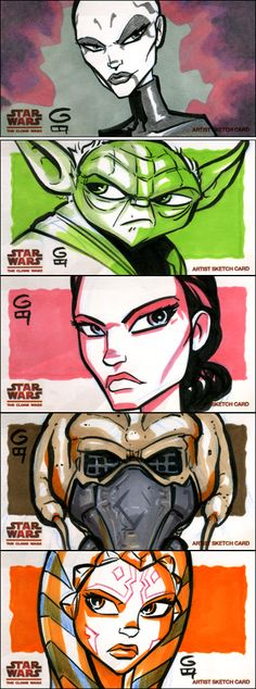 Clone Wars Widevision: Batch 3 by grantgoboom on DeviantArt