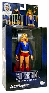 DC Direct Justice League Alex Ross Series 8 Action Figure Supergirl [Pre-Crisis]