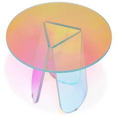 Glas Italia Shimmer side table