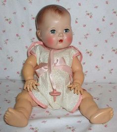 images of tiny tears doll | tiny tears doll 1950s - Google Search