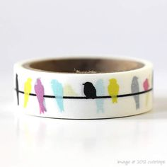 Hey, I found this really awesome Etsy listing at http://www.etsy.com/listing/113208015/colorful-bird-washi-tape-mini