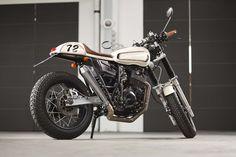 "yamaha tt xt 500 | Yamaha XT 600 Z ""Schokobohne"" by Benders"