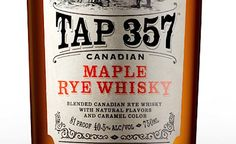 Tap 357 Canadian Maple Rye Whisky - Mixing Cocktails with Tap 357
