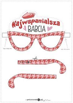 Okulary dla najwspanialszej Babci - Printoteka.pl