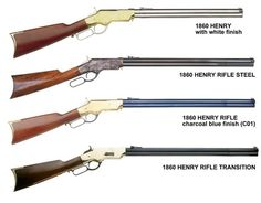 These are the real Henry rifles. Notice that they don't have a wooden forearm. I want one of these so bad. Just a really cool Cowboy rifle. Weapons Guns, Military Weapons, Guns And Ammo, Armas Airsoft, Henry Rifles, Lever Action Rifles, Military Pictures, Fire Powers, Firearms