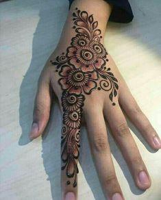 Eid Mehndi Designs, Henna Hand Designs, Modern Henna Designs, Mehndi Designs Finger, Simple Arabic Mehndi Designs, Mehndi Designs For Beginners, Mehndi Designs For Girls, Wedding Mehndi Designs, Mehndi Designs For Fingers