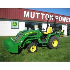 John Deere 3320 Compact Utility Tractor Package -- Check it out at: http://www.muttonpower.com/store/p-2625-john-deere-3320-compact-utility-tractor-loader.aspx