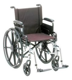 """Wheelchairs NOVA Medical Products 20"""" Lightweight Wheelchair <3 This is an Amazon Associate's Pin. Clicking on the VISIT button will lead you to find the item on Amazon website."""
