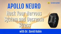 In this episode, I am speaking with David Rabin, MD, PhD, renowned neuroscientist and inventor who has been studying the impact of chronic stress in humans for more than a decade. We're talking about his groundbreaking Apollo device (which I personally wear everyday) and the breakthrough science behind it that can actively improve energy, focus, relaxation and sleep. If you'd like to be an early adopter of the Apollo (which I strongly recommend), you can save 15% for the next few days! No… Chronic Stress, How To Increase Energy, A Decade, New Technology, Nervous System, Apollo, Studying, David, Sleep