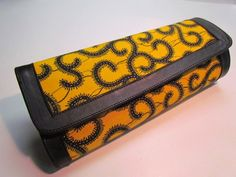 African Print Clutch Purse. $30.00, via Etsy.