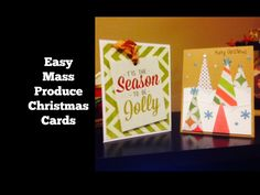 Easy To Mass Produce Christmas Cards
