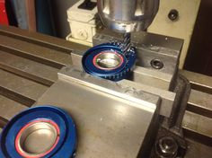 We are machining some slots today