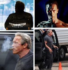 \'Hasta la vista, baby!\' Arnold Schwarzenegger wraps fifth Terminator film... and reveals new movie title.  Arnold Schwarzenegger has announced the fifth Terminator film is called Terminator Genisys. The 67-year-old actor confirmed the title of the upcoming movie in the series, which is currently in production and also stars Emilia Clake, Matt Smith and Jason Clarke, on his Instagram profile on Wednesday, and revealed he has officially wrapped shooting his \'rewarding\' scenes for the ...