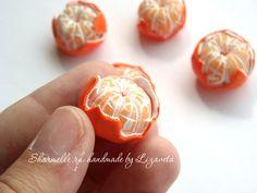 Mandarinen aus Fimo - Schritt 6