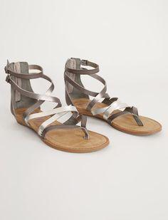 a5b25c689867 Blowfish Bungalow Sandal - Women s Shoes in Steel Grey Silver Pewter