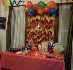 Fiesta Table Display
