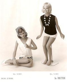 1960's Decter young juniors mannequins