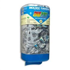MOLDEX Sparkplugs Soft Foam Ear Plugs Multi-Color 50 Pairs Earplugs