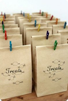 party bags by Grow. Cook. Sew., via Flickr