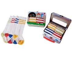 Retro baby tube socks-great for crawling