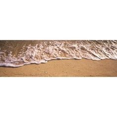 High angle view of surf on the beach Grand Cayman Cayman Islands Canvas Art - Panoramic Images (27 x 9)