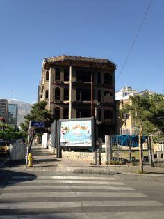 Buchmesse Teheran 2014: Bauruinen allenthalben
