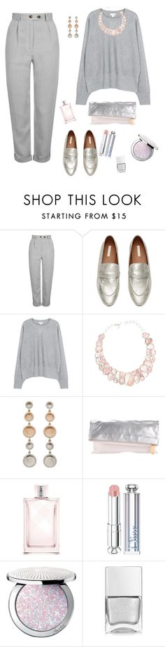 """""""Untitled #114"""" by explorer-14747526144 ❤ liked on Polyvore featuring Topshop, Vince, Poppy Jewellery, Fendi, Burberry, Christian Dior, Guerlain and Nails Inc."""