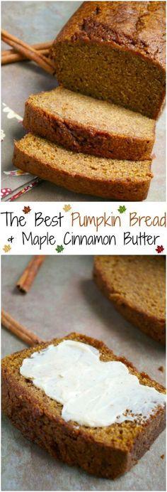 Super Moist Pumpkin Bread - Stuck On Sweet - The Best Pumpkin Bread Recipe - Best Pumpkin Bread Recipe, Moist Pumpkin Bread, Pumpkin Recipes, Fall Recipes, Fall Desserts, Just Desserts, Delicious Desserts, Dessert Recipes, Yummy Food