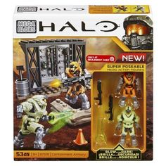Mega Bloks® Halo Containment Armory