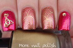 Lacquistry - REDiculous ~ More Nail Polish stamping nail art