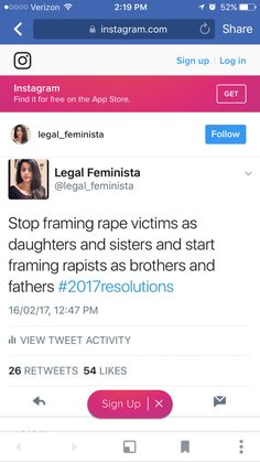 Wow.. thats some real shit right there.. dnt think it could be my daughter sister or mother that got raped  think its a father brother uncle nephew or son that is actually doing that.