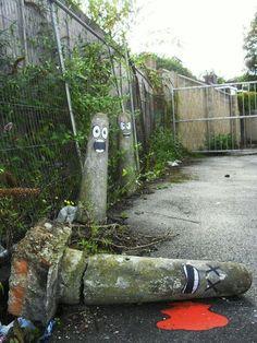 Sjov streetart / hærværk
